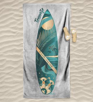 Strandtuch | Teneriffa Surfing