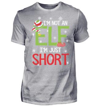 NOT AN ELF IM JUST SHORT