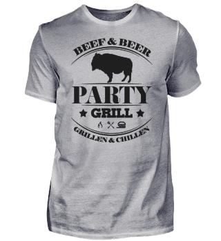 ☛ Partygrill - Grillen & Chillen - Beef #2S