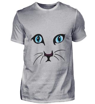 D009-0011 Cat Face I / Katze Gesicht