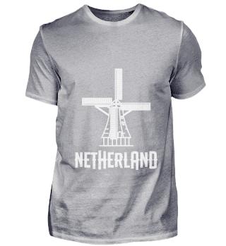 Holland Netherlands Amsterdam Windmill