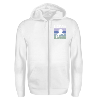 Stripes - LOVE - Tattoo Unicorn - white