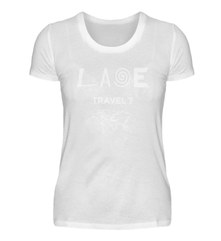Laoe Travel 7 Klassisches Logo White ( Women )