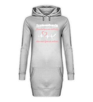 Krankenpflege Hoodie Kleid Dummheit