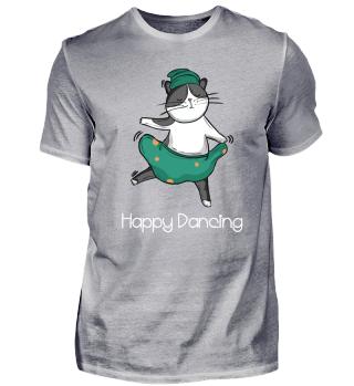 Happy Cat Crazy Cat Dancing Cat