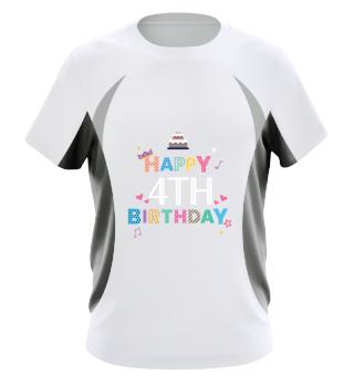 Happy Birthday 4th birthday