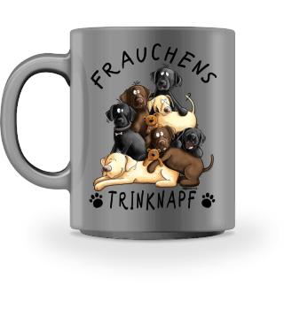 Labrador Retriever Frauchens Trinknapf