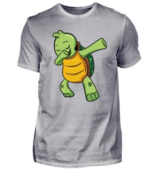 Schildkröte Dabbing Dabb Tanz