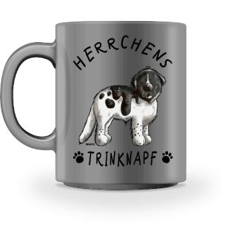 Herrchens Trinknapf Landseer Tasse