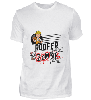 D001-0348B Roofer Dachdecker - Zombie by