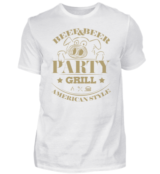 ☛ Partygrill · American Style #3G