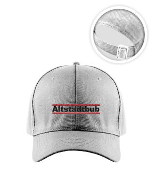Altstadtbub-Basecap mit Stick hell