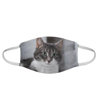 Gesichtsmaske mit Katzenmotiv 20.25