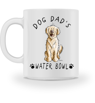 Golden Retriever Dog Dad's Bowl I Mug