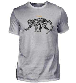 Tier Affe Mandala - Lewup