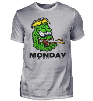 Monday day of horror - monster - b