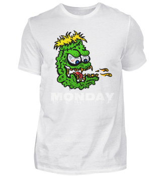Monday day of horror - monster - w