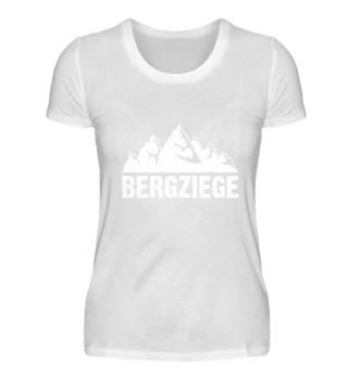 Bergziege Für Wanderer und Berge Fans