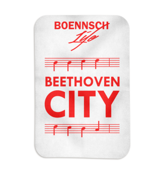 fleecedecke beethoven city