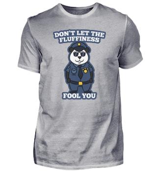 Panda Bär Polizei Sicherheit Geschenk