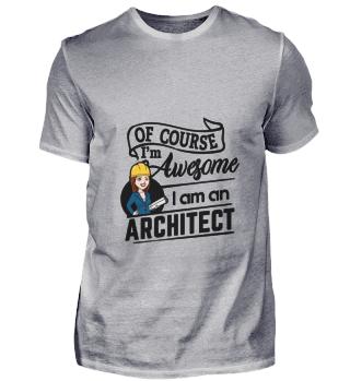D001-0410B Female Architect Architektin