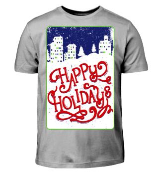 Skyline - HAPPY HOLIDAYS
