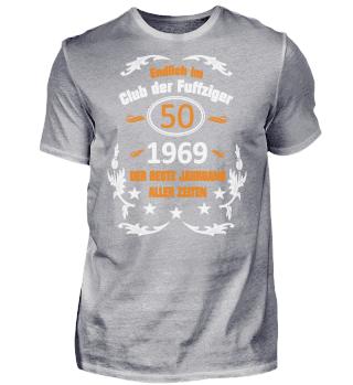 50. Geburtstag Club der Fuffziger