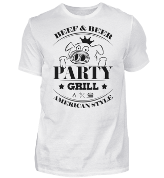 ☛ Partygrill · American Style #2S
