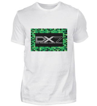 DX7 - Synthesizer 80s - T-shirt