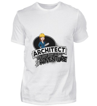 D001-0417B Female Architect Architektin
