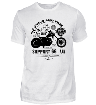 ☛ RiDER · SUPPORT 66 · US #3