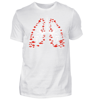 Shirt Tauchen Lunge Diving Lungs Dive