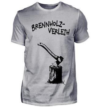 Brennholz-Verleih Holz Hacken Geschenk
