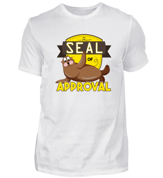 Seal of Approval Seal Approved Happy