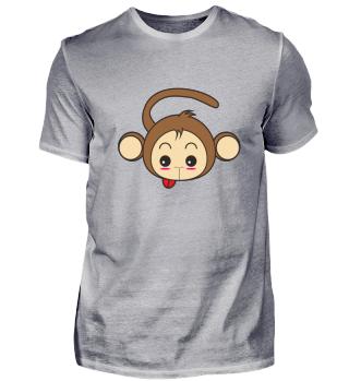 Cooler lustiger Affe Geschenk Idee