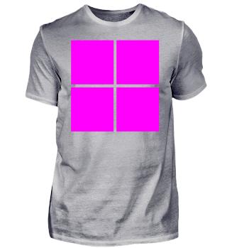 Logo Trikot Pink Idee