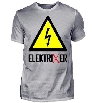 ElektriXer Elektriker Blitz Pfeil