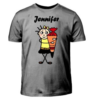 Jennifer - Einschulung I-Dötzchen