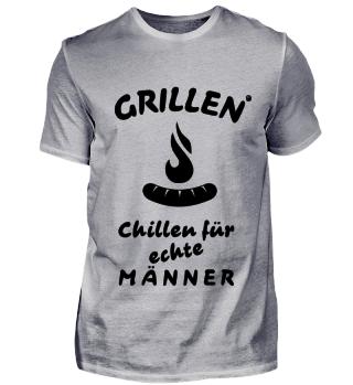 Grillen Chillen für Männer