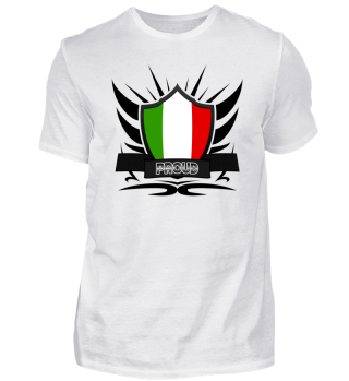 Italien-Italy Proud Wappen Flag 011