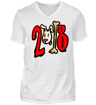 Chinese Newyear Shirt 2018 Dog