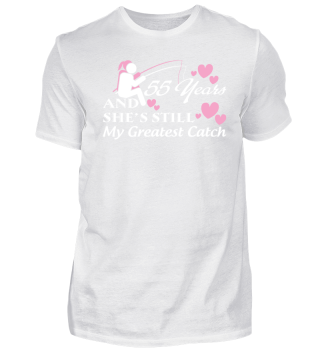 55 Years Anniversary Gift She Still Grea