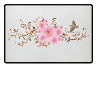 ♥ Spring Cherry Blossoms Boho Chic 5a