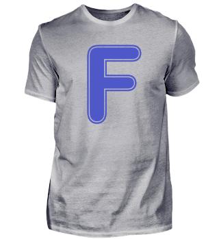 Alphabet - Letter - F