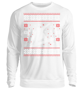 Snowboard Ugly Xmas Sweater Geschenk