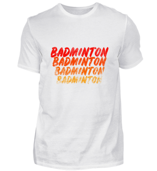 Badminton Shirt Gift