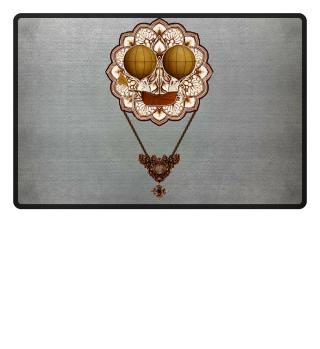 ★ Vintage Steampunk Travel Mandala 2