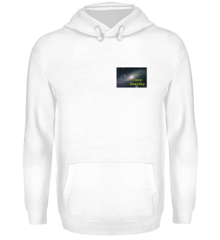 Hoodie mit Andromeda-Galaxie Icon u.a. Accessoires