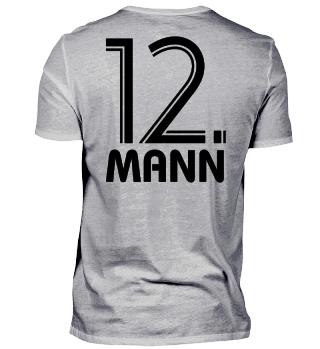 Fußball Fan Shirt – 12. Mann