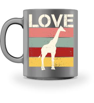 Stripes - LOVE - Giraffe - cream